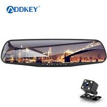 Автомобильный dvr/dash cam era две камеры зеркало автомобиля видеонаблюдение dashcam full hd dash cam зеркало автомобиля dvr зеркало двойной объектив рекордер