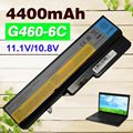 4400mAh  Battery For Lenovo IdeaPad G460 G560 V360 V370 V470 B470 G460A Z460 Z465 Z560 Z565 Z570 LO9S6Y02