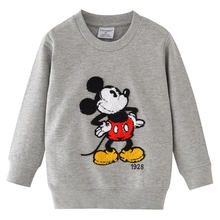 T Shirts Children Kids Child Cartoon T-Shirt Long Sleeve T Shirt For Boys Tops Baby Sweater Tee Shirt Fille Boys Mickey Clothes(China)