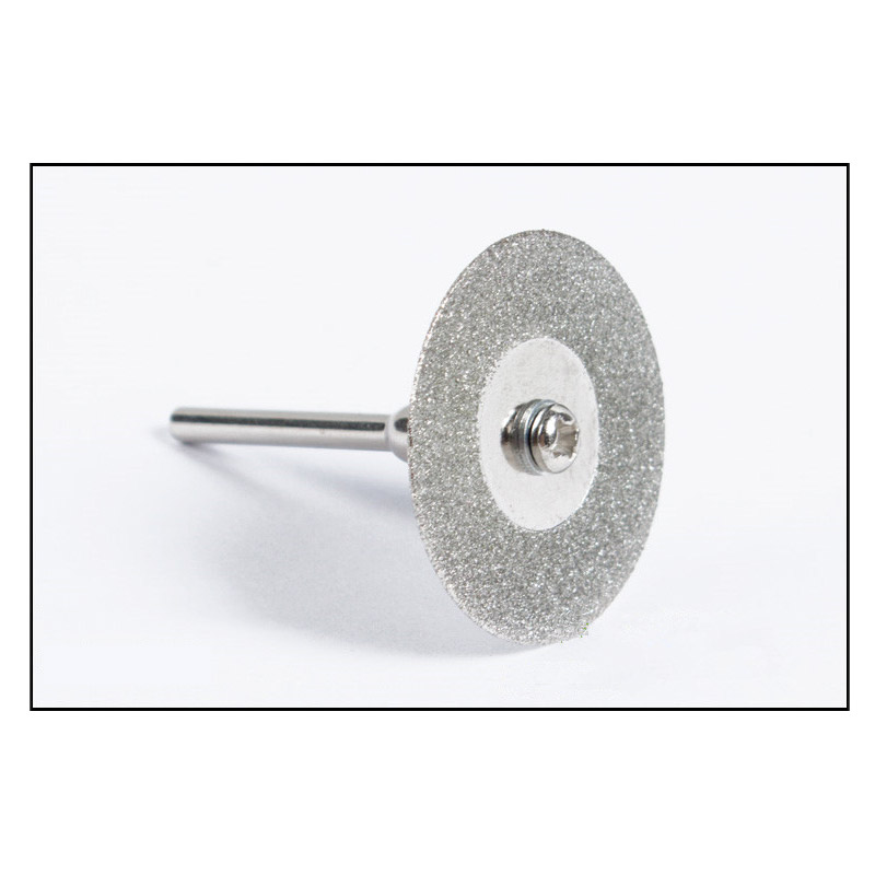 10PCS 50mm Diamond Grinding Wheel Rotary Circular Saw Blade Abrasive Diamond Disc Cutting Disc for Dremel Drill Tool Mandrels in Power Tool Accessories from Tools