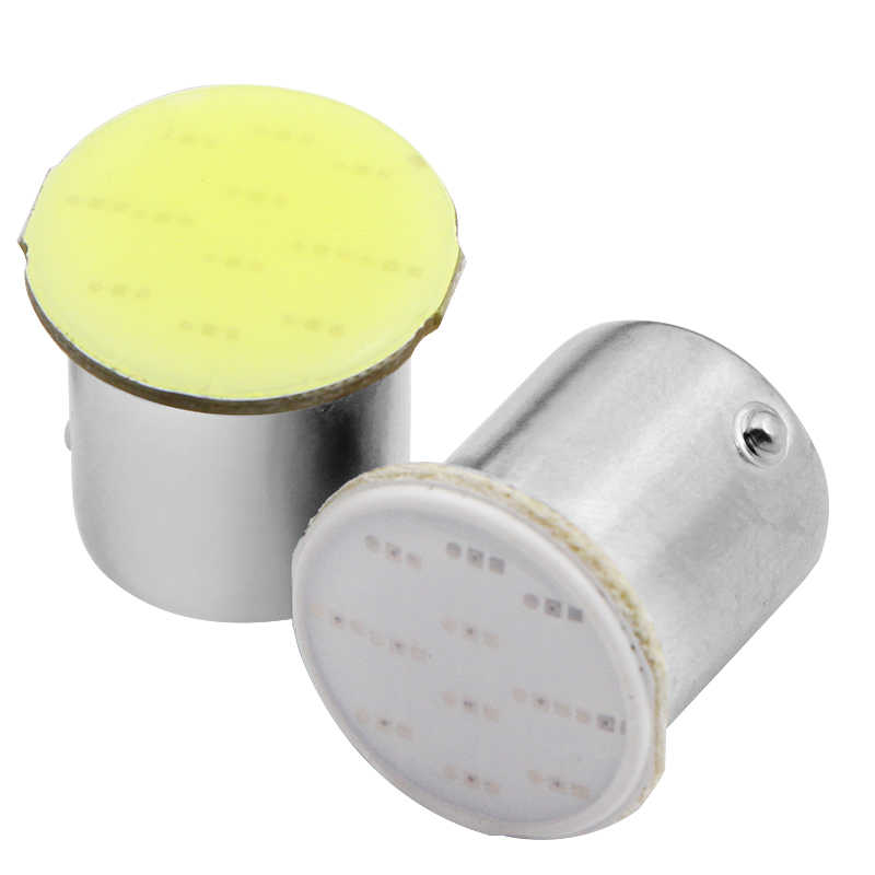 Super White Red cob p21w led 12SMD 1156,ba15s 12v bulbs RV Trailer Truck Interior Light 1073 parking Auto Car lamp Car Styling