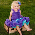 Buenos Ninos Children Chiffon Tutu Set 2 Pcs Set A Pettiskirt+A Petti Top Dress