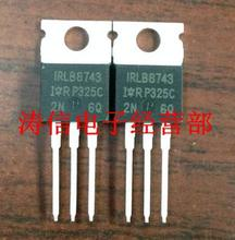 free shipping 10PCS IRLB8743 IRLB8743PBF IRLB 8743 PBF The new quality is very good work 100% of the IC chip(China (Mainland))