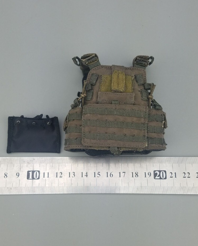 1/6 Scale U.s Navy Seal Combat Tactical Vest Models For 12''action Figures Bodies Accessories Mms9003