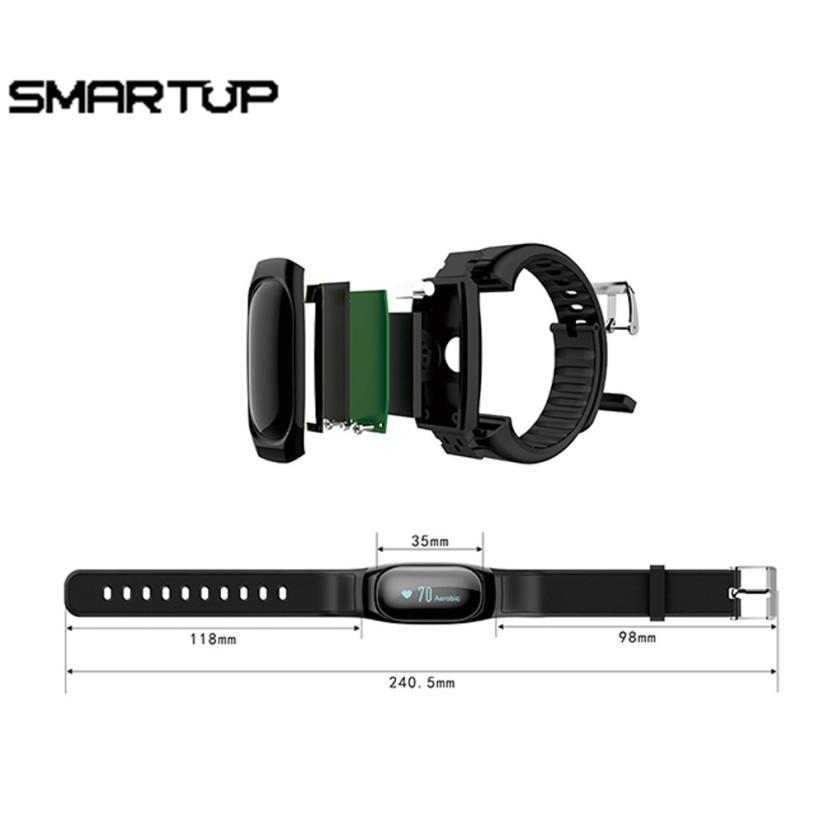 HL 2017 ID118 HR Smart Polsband Sleep Monitor Call Bericht ...