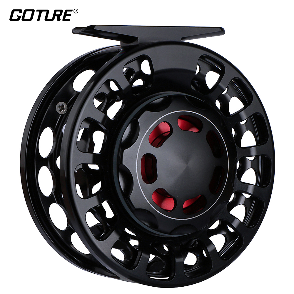 Goture VX Fly Reel 3/5 5/7 7/9 Light Weight Fishing Reel 2+1BB Sea Fishig WaterProof Fly Fishing Reel with A Bag karinluna best quality crystals brand big size 34 43 sexy high heels summer sandals shoes women party woman shoes