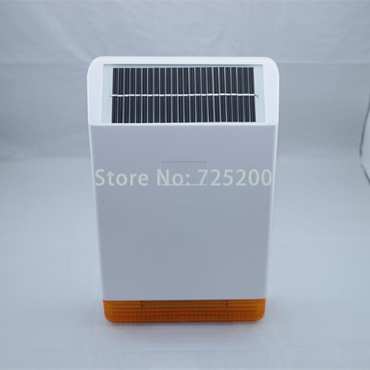 MD-326R 868MHz Solar Outdoor Weather-proof Flash Alarm Siren Strobe Horn for ST-IIIB, ST-VGT, ST-V, Free Shipping charming 100cm long glossy straight side bang harajuku anime synthetic cosplay wig for women