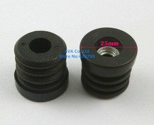 Image 2 - 20 Pieces M8 Thread Nut 25mm Round Plastic Insert Cap Tube End Cover Cap