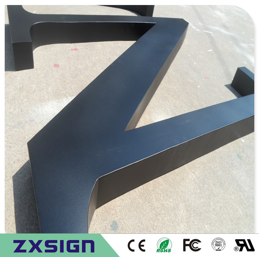 Factory Outlet Outdoor Seamless Welding Precision Grinding Painted Stainless Steel Letters, Dimensional Words