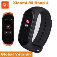 """Xiao mi bande mi 4 Version mondiale Bracelet intelligent Tracker de remise en forme mi Band4 Bracelet 5ATM étanche 0.96 """"écran OLED fréquence cardiaque"""