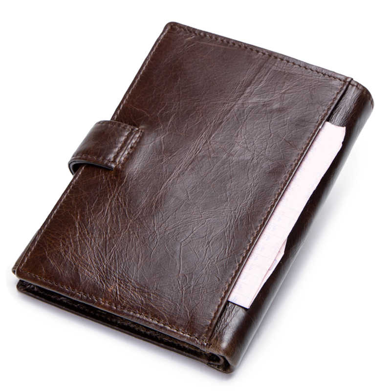 0d6964049b0f ... OGRAFF обложка на паспорт кожа кошелек мужской натуральная кожа  маленький бумажник мужской клатч визитница кожаный портмоне ...