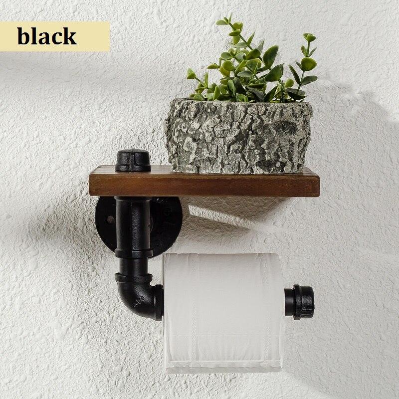Vidric Creative cadre de porte-serviettes en papier de toilette rétro porte-rouleau de toilette porte-papier accessoires de toilette livraison gratuite