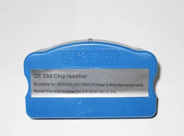 1pcs For Epson 3800 Maintenance Tank Chip Resetter For Epson stylus pro3880 3800 3890 3850 3885 vilaxh for epson p600 chip resetter for epson surecolor sc p600 printer t7601 t7609 cartridge resetter