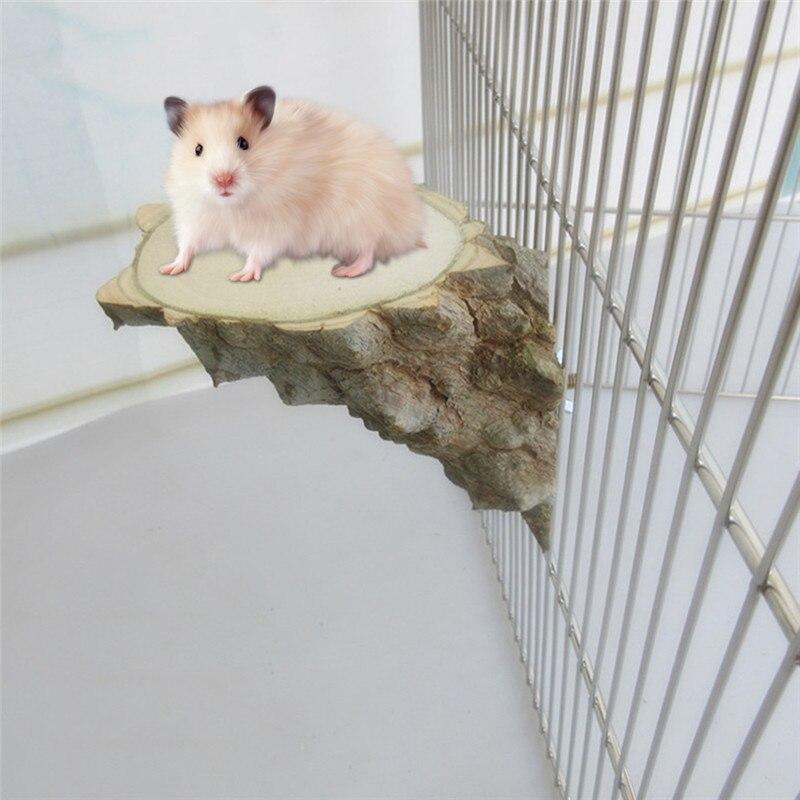 Высокое качество Шиншилла белка перец журнала Pier правой angleparrot стенд прыжки доски платформы Щенок Pet птицы Попугай стоял