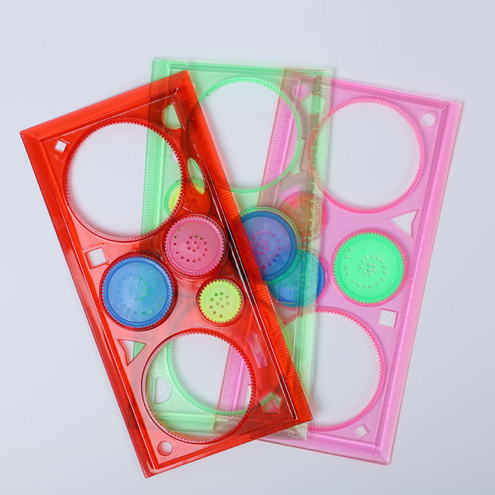 Limit Shows Spirograph Geometric Ruler Learning Drawing Tool Stationery For Student Drawing Creative Gift Painting Tool Toy