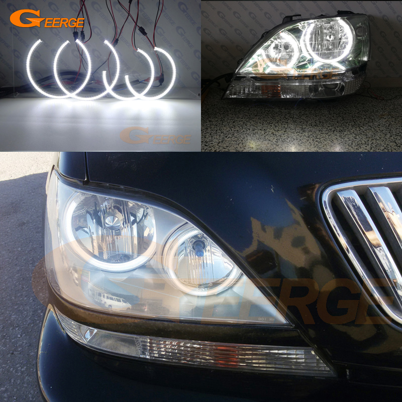 For Toyota Harrier 1997 1998 1999 2000 2001 2002 2003 Excellent Angel Eyes Ultra bright smd
