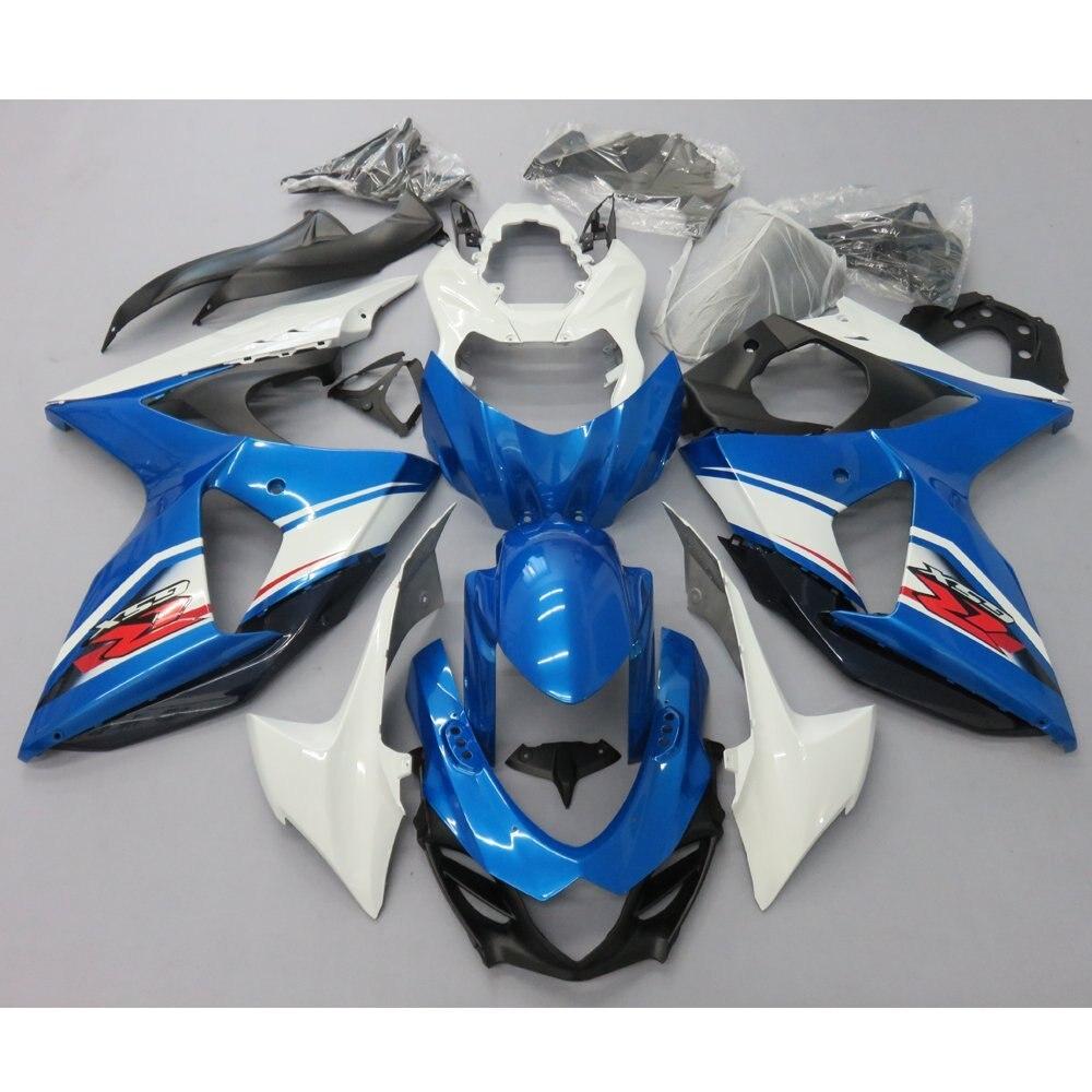 Motorcycle Fairing Kit Bodywork For Suzuki K9 GSXR 1000 GSXR1000 2009 2010 GSX-R 1000 09 10 Fairings Injection Molding Blue motorcycle unpainted fairing for suzuki gsxr 1000 k5 2005 2006 gsxr1000 gsx r1000 05 06 injection molding fairings kit bodywork