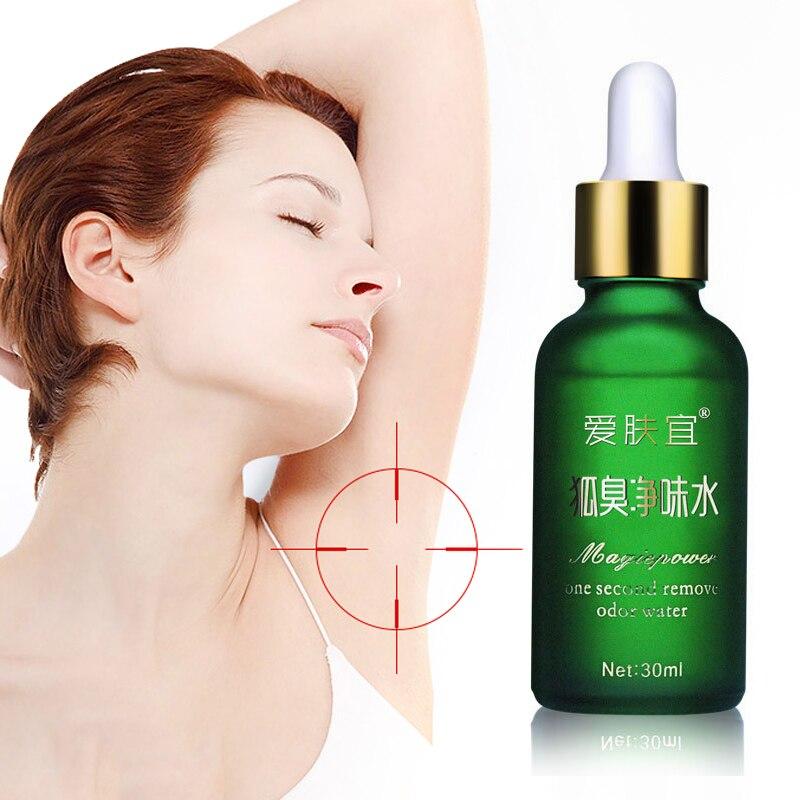 30ml Body Odor Antiperspirant Essence Liquid Underarm Lotion Deodorant Women Fragrance Men Smooth Sweat Clean TSLM2
