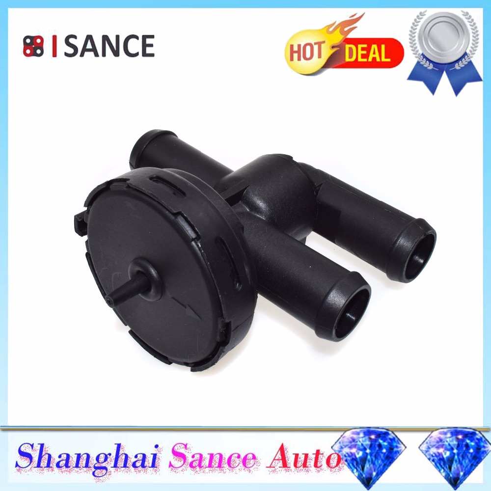 Isance Heater Control Valve Coolant Bypass 90566947 For Saab 9 5 2002 Audi A4 Core Cadillac Catera 1997 1998 1999 2000 2001 2003 2004 2009 In Air Conditioning