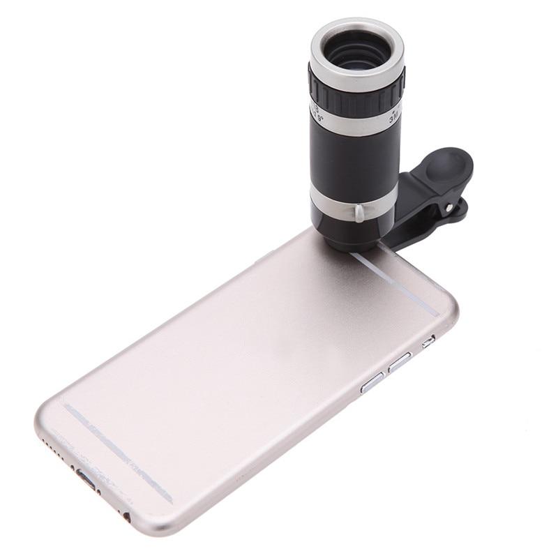2016 Neue 7in1 8x Zoom Kamera Tele Teleskop Objektiv Universal - Handy-Zubehör und Ersatzteile - Foto 3