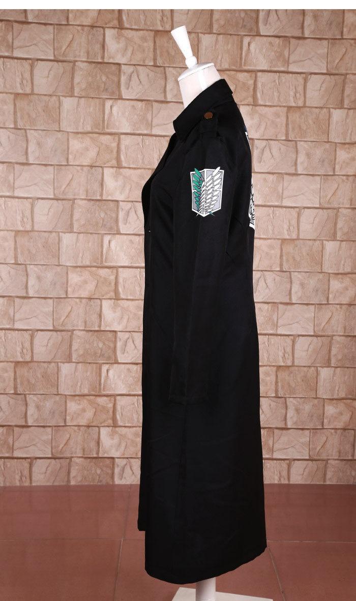 ikinci dörddəbir Titan cosplay paltosuna hücum. İstintaq əsgəri - Karnaval kostyumlar - Fotoqrafiya 2
