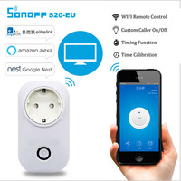 Charging Adapter S20 WIFI Remote Control Smart Home Power Socket EU US UK Standard For Sonoff