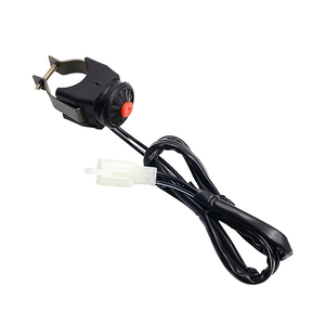 Image 3 - 1 Pcs Handelbar Switch Starter/Kill Switch Overtaking Light Switch For Pit Bike Go Cart ATV 7/8 Handlebar Etc 24.4 Inch