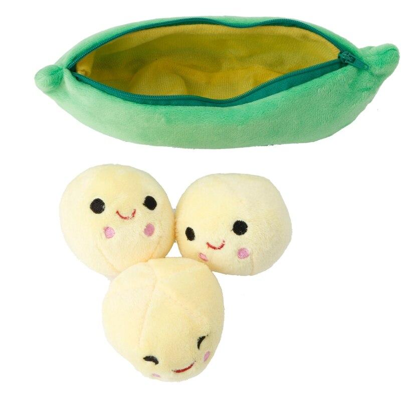 Plüschkissen 100% QualitäT Hbb 25 Cm/40 Cm/50 Cm Lächeln Pea Anlage Emoji Bean Puppe Kinder Baby Stofftiere Wir Haben Lob Von Kunden Gewonnen