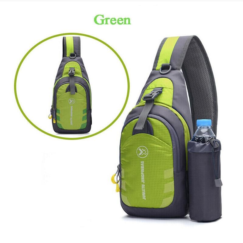 Women Men Handbag Waterproof Small Chest Bag Pack Travel Shoulder Sling Cross Body Colors Patchwork Fashion Design Hot Popular