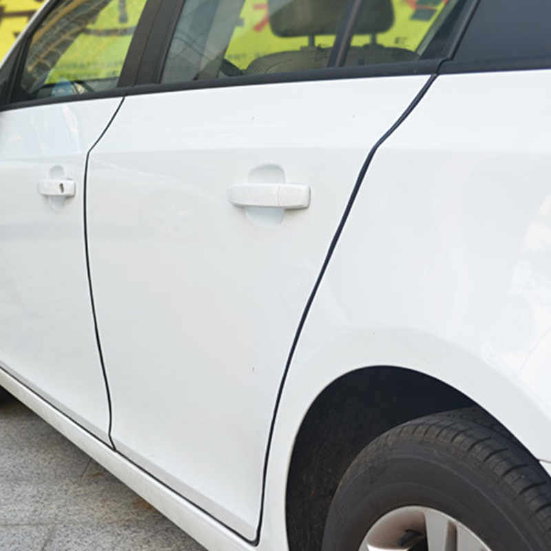 Für BMW VW Auto Gummi Abdichtung Zierleiste Tür Rand Schutz Scratch Streifen Protector Auto Zubehör Auto Styling Auto Teile