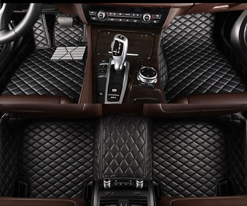 3D Luxury Slush Floor Mats Foot Pad Mat For BMW F10 F11 F15 F16 F20 F25 F30 F34 E60 E70 E90 1 3 4 5 7 Series X1 X3 X4 X5 X6 Z4
