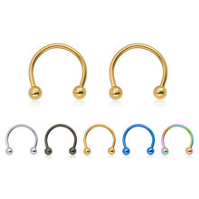1PCS Fake Nose Ring Dainty Faux Nose Rings Fake Septum Rings Hoop Nostril Piercing Fake Clip on Nose Rings(China)