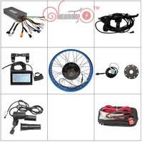 2015 Hot Sale 48v 1500w 26 Fat Bike Fat Tire Ebike Rear Wheel Conversion Kit Sine