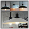 Lustre vintage europeu e americano designer industrial tampa de E27 lustre lâmpada, Diâmetro 32 cm, Ac110-240v