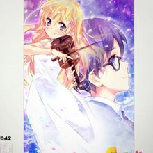 your lie in april anime poster