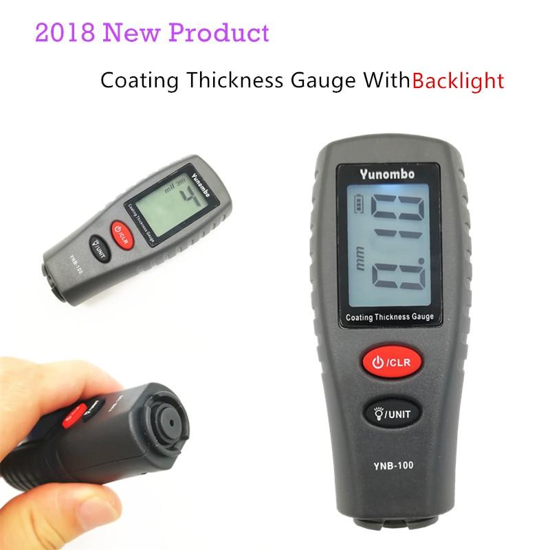 Digital Paint Coating Thickness Gauge 0.00~2.20mm Gauge Tester for Car UK