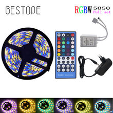 DC12V 5M LED Strip 5050 RGBW,RGBWW LED Tape 60LEDs/m Flexible Light 5050 LED Strip RGB Riboon White,Warm white,Red,Blue,Green(China)