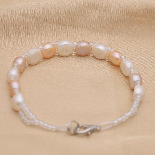Bracelet Perle De Culture Or