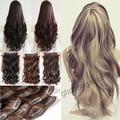 "2015 Cheap Price 16 Colors 24"" Clip In Braiding aplique de cabelo Hair Extension Free Fast Shipping Brown Black Blonde"