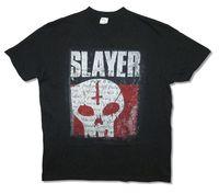 Slayer Undisputed Attitude Skull Image Mens Black T Shirt Heavy Metal Kerry King