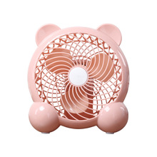 Free shipping USB mini silent 7 inch fan office desktop desktop dormitory small electric fan цена