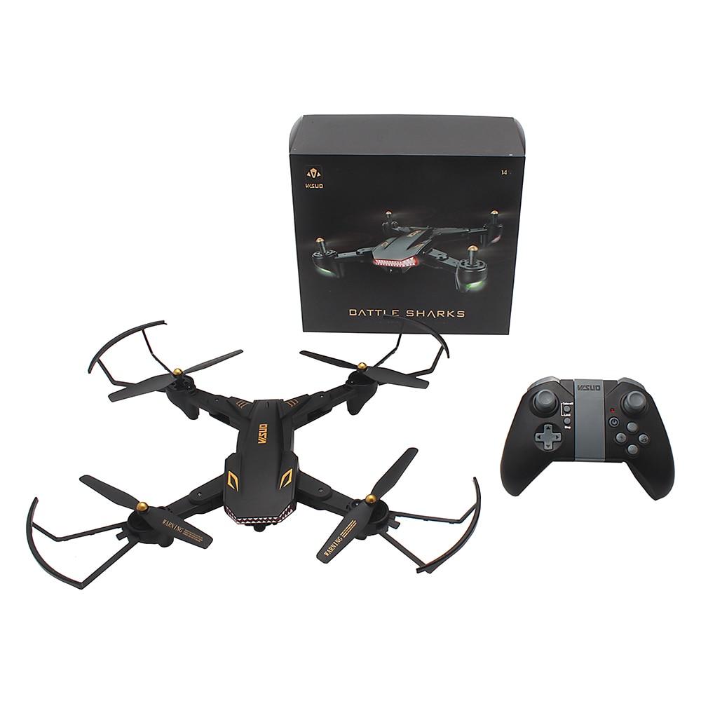 Оригинальный tianqu visuo XS809S Радиоуправляемый Дрон Wi-Fi FPV 720P HD Камера высота режим удержания Quadcopter RTF Вертолет Дрон игрушка VS Xs809w