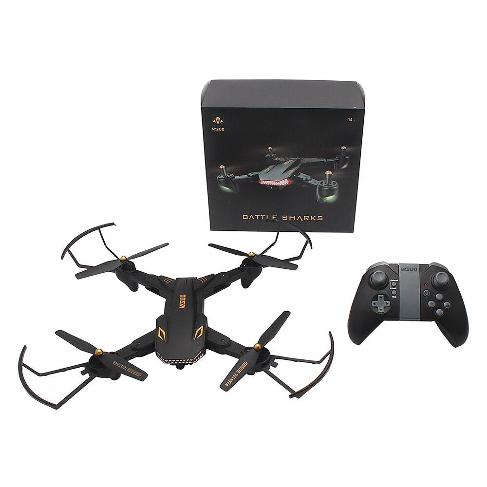 D'origine TIANQU VISUO XS809S RC Drone WiFi FPV 720 p HD Caméra Mode de Maintien D'altitude Quadcopter RTF RC Hélicoptère Drone jouet VS Xs809w