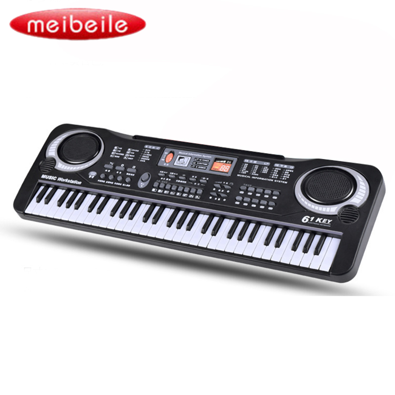 61 Touches Numérique Musique Électronique Clavier Cadeau Piano Électrique Jouets Éducatifs Instruments Musicaux Professionnels - 4