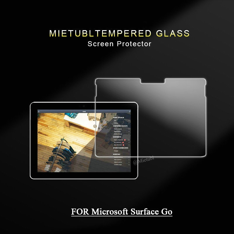 for Microsoft Surface Go 10 2018 Tempered Glass Screen Protector for Microsoft Surface Go 10 2018 Tablet Screen Protectors
