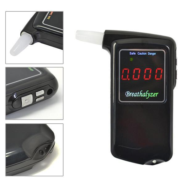 1 pieces Portable Professional Police Electronic Digital LCD screen Display breathalyzer Alcohol Tester