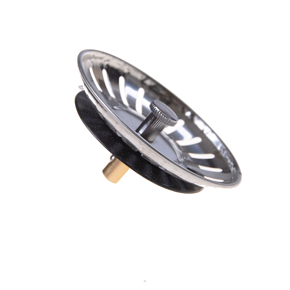 1PCS  Sink Filter Stainless Steel Bathroom Basin Sink DrainKitchen Sink Strainer Stopper Waste Plug
