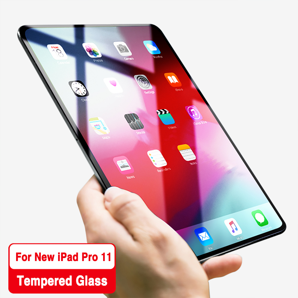 LECAYEE HD Tempered Glass Screen Protector For iPad Pro 11 inch  Apple iPad 11 9H Screen Protective Glass A1980 A2013 A1934LECAYEE HD Tempered Glass Screen Protector For iPad Pro 11 inch  Apple iPad 11 9H Screen Protective Glass A1980 A2013 A1934