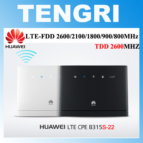 Unlocked HUAWEI B315 B315S 22 LTE CPE 150Mbps 4G LTE FDD TDD wireless gateway wifi Router