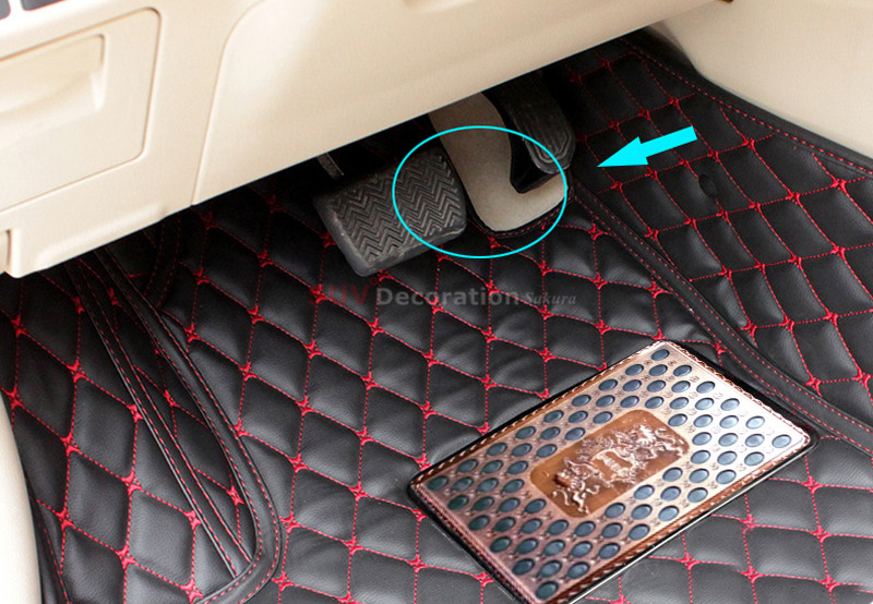 for toyota camry xv50 2012 2016 floor mats foot pad interior car leather carpet 1set new. Black Bedroom Furniture Sets. Home Design Ideas